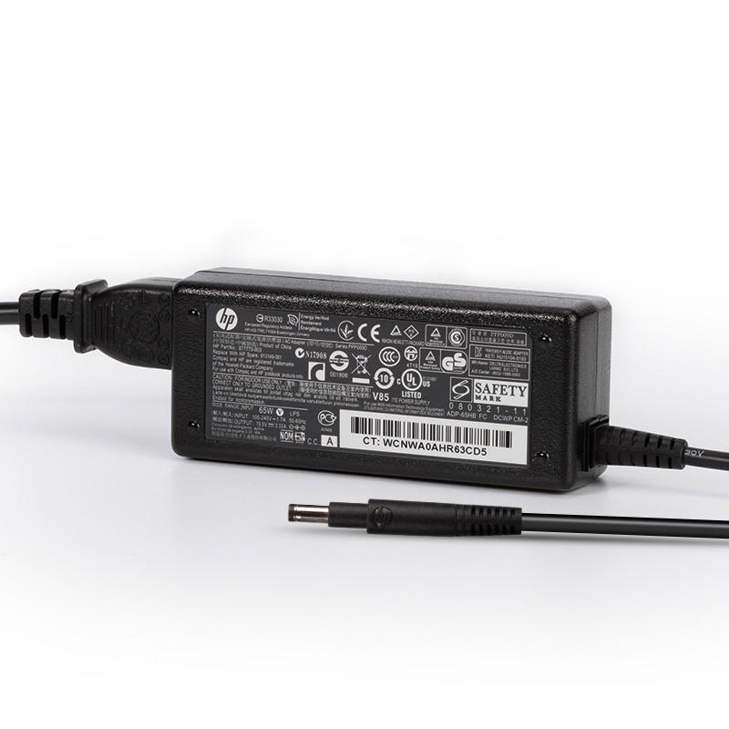Genuine 65W HP Pavilion Sleekbook 14-b010us AC Adapter Charger Power Cord