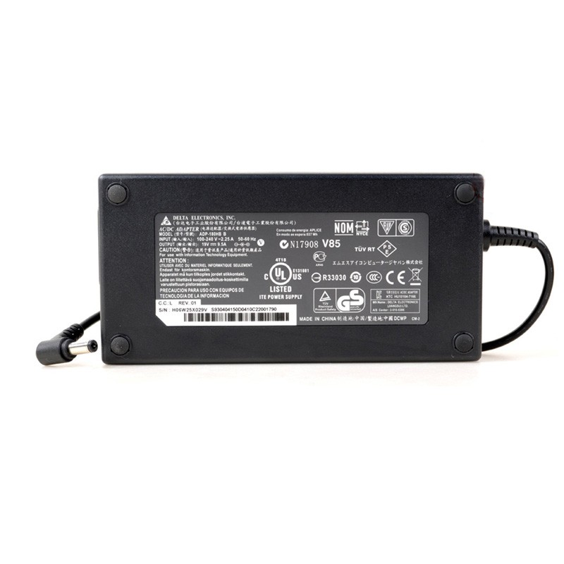 Genuine 180W Medion Erazer X7857 X7855 Charger AC Adapter with  Cord